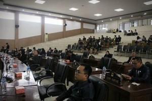 Rapat Paripurna Istimewa Penyampaian Keputusan DPRD Minsel Tentang Rekomendasi LKPJ Kepala Daerah Tahun Anggaran 20175