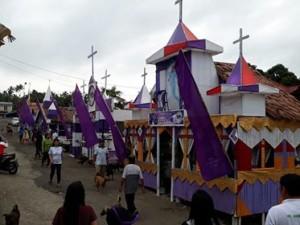 GMIM Bukit Zaitun Tewasen, Perayaan Paskah, Mervi Walukow,