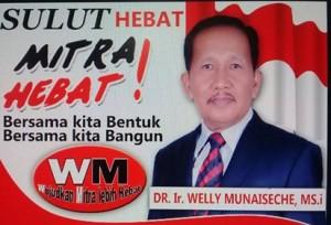Siap Perjuangkan Aspirasi Rakyat, Welly Munaiseche Menuju DPRD Sulut