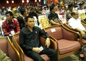 Plt Bupati Ronald Kandoli Hadiri Rakornas Jakstranas Pengelolaan Sampah Rumah Tangga