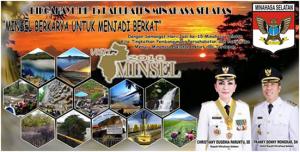 Torehan Prestasi di HUT ke 15 Kabupaten Minsel 7