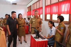 UNBK minsel, UNBK minsel 2018, ranky Donny Wongkar