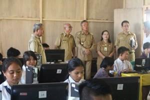 UNBK Tingkat SMP minsel, Franky Donny Wongkar