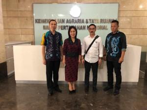 Ketua DPRD, SEkretaris DPRD, Kadis Perkim dan Kabag Umum Sekretariat DPRD