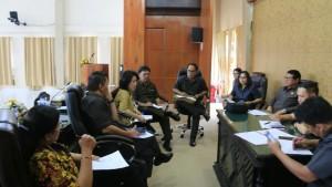 Rapat Banmus dipimpin Ketua DPRD Tomohon
