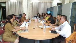 Rapat Pembahasan Bapemperda dengan eksekutif