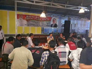 Senator SBAN Liow Sosialisasi Empat Pilar MPR-RI di Bitung