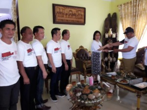 Coklit, Wali Kota dan Ketua DPRD Tomohon Disambangi Petugas Pantarlih dan KPU