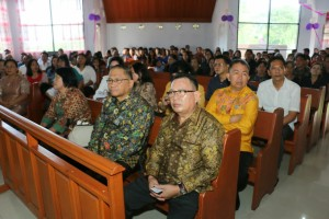 Sekkot Tomohon Ibadah Paskah di GMIM Damai Lahendong