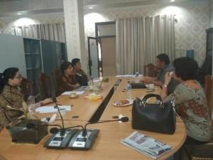 Rapat Finalisasi Pansus Propemperda DPRD Tomohon