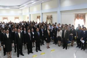 Pengurus DPC LPM Lima Kecamatan yang dilantik
