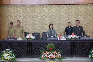 Wali Kota Tomohon, Pimpinan DPRD dan Sekwan