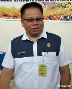 Drs Gerardus Mogi, Kepala Badan Keuangan Daerah Kota Tomohon