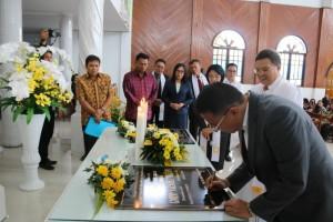 Wali Kota Tomohon Ibadah Paskah dan HUT ke-18 GMIM Nazaret Matani