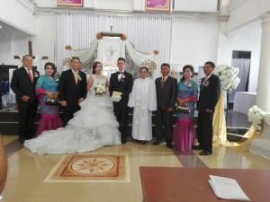 Wali Kota Tomohon Jadi Saksi Pernikahan Anak Mantan Anggota DPRD Sulut