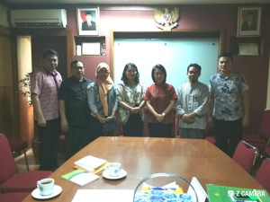 Wenur didampingi Kadis Tenaga Kerja dan Staf DPRD di Kementerian Tenaga Kerja