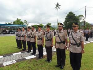 Lima perwira yang disertijab