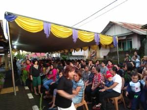 Antusias warga Tomohon Selatan menghadiri reses Djemmy Sundah SE