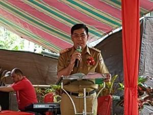 Bom Surabaya, Bupati Minahasa, Drs Royke H Mewoh DEA,