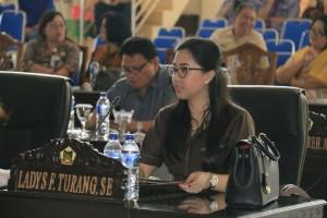 Ladys F Turang SE, Ketua Pansus Ranperda Perlindungan Anak