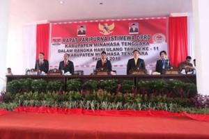 Gelar Peripurna Istimewa HUT Mitra ke-11, JS-RK Pemimpin Pembawa Perubahan di Mitra