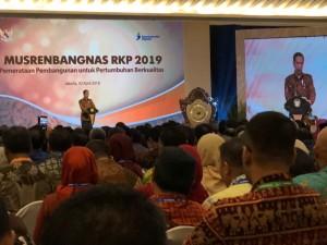 Wali Kota Tomohon Hadiri Musrenbangnas