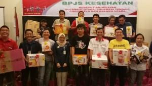 BPJS Kesehatan Suluttengomalut Gelar Media Gathering