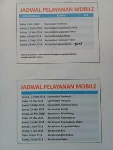 Disdukcapil Minahasa, KTP-E, Drs Riviva Maringka,
