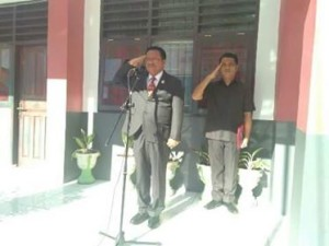 Wakil Walikota Bitung Ir Maurits Mantiri Irup Peringatan Hardiknas