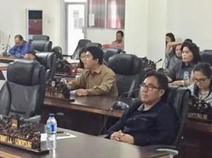 PDI-P mitra, DPRD mitra, Royke Pelleng ,  Delly Makalow,