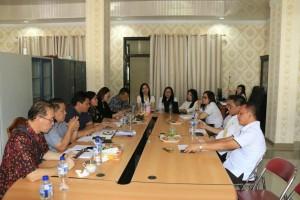 Rapat Pansus dengan instansi terkait