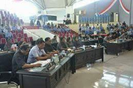 Pembicaraan Tingkat I Terhadap 2 Ranperda Diparipurnakan DPRD Kota Bitung