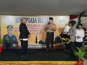 Polres Minahasa, Masjid Baitul Ikhlas ,Desa Waleure,AKBP Christ R Pusung SIK,