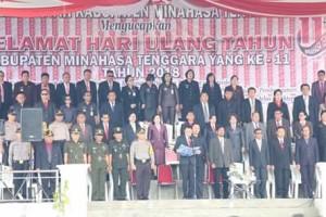 Harkitnas ,  HUT ke-11 Kabupaten Mitra