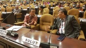 Senator Ir Stefanus BAN Liow dan Ir Marhany VP Pua