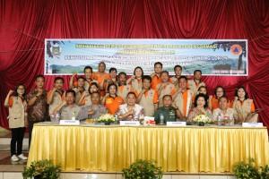Wali Kota, nara sumber dan jajaran BPBD Tomohon