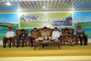 Wali Kota Tomohon, Forkopimda, pimpinan Umat Muslim dan Sekretaris Kota