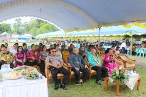 Wali Kota Tomohon, Uskup, Uskup Emeritus dan Forkopimda bersama pejabat