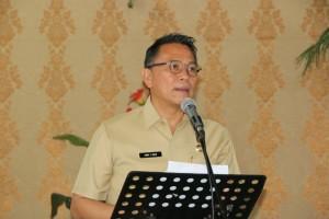 Wali Kota Tomohon  membuka kegiatan dan membawakan sambutan