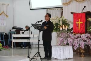 Senator Ir Stefanus BAN Liow pesreta kehormatan lomba baca mazmur
