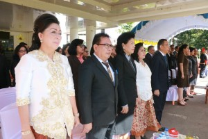 Jajaran Eksekutif dan Legislatif Tomohon di Peringatan Hardiknas 2018