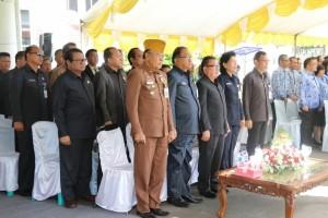 Pejabat serta anggota DPRD yang hadir di Harkitnas