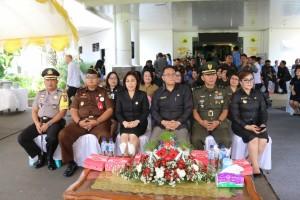 Wali Kota Tomohon serta Forkopimda dan Wawali Tomohon di peringatan Harkitnas