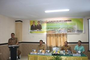Wali Kota Tomohon membuka kegiatan