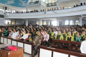 Pemkot Tomohon Peringati Kenaikan Yesus Kristus di GMIM Maranatha Paslaten