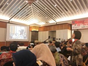 Ketua DPRD Tomohon Ir Miky JL Wenur di Raker  dan Sosialisasi Permendagri  38/2018