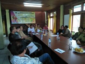 Rapat rencana pembentukan pengurus PSSI di Kota Tomohon