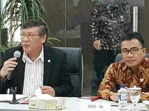 Produktif, Marhany Pua Rekomendasikan SBAN Liow Maju Lagi di DPD