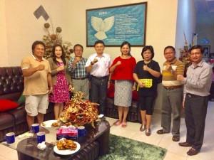 Pengurus DPD dan DPC LPM Tomohon