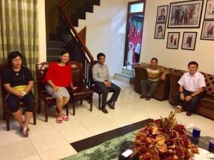 Rapat Koordinasi LPM Tomohon untuk persiapanj pemilihan di tingkat kelurahan